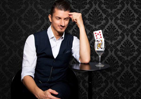 Wolfgang Moser and a card trick